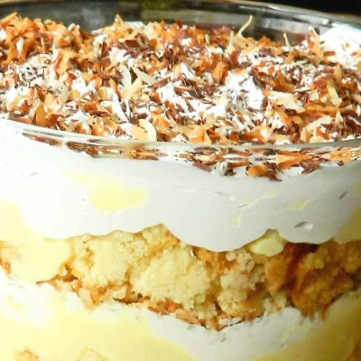 Coconut Cream Pie Trifle