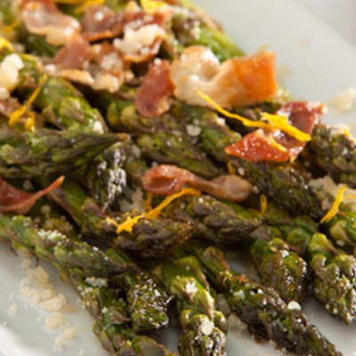 Loaded Roasted Asparagus