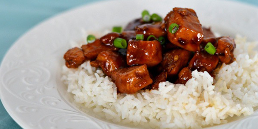 Chinese Bourbon Chicken And Rice No Fail Recipes
