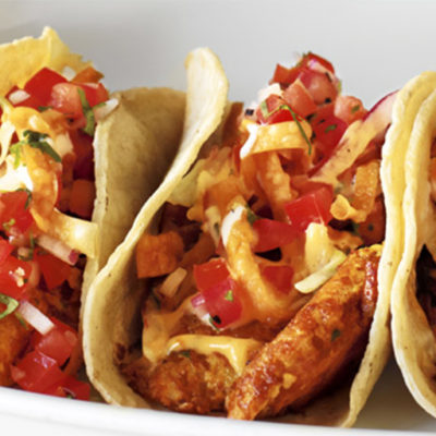 Cajun Blackened Fish Tacos