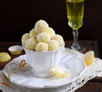 Limoncello White Chocolate Truffles