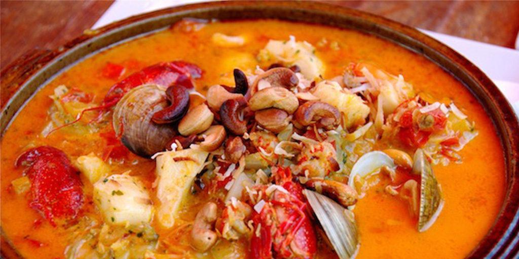 Brazilian bahia moqueca fish stew no fail recipes for Fish stew recipe cod