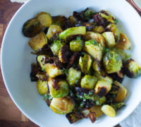 Crispy-Fried-Sweet-&-Spicy-Brussels-Sprouts-with-Garum-Sauce-550x550