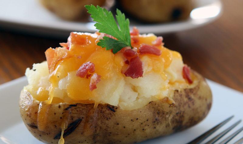 Overstuffed Twice Baked Potato