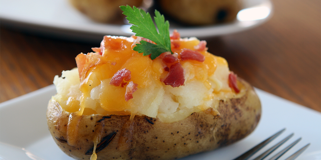 Overstuffed Twice Baked Potato